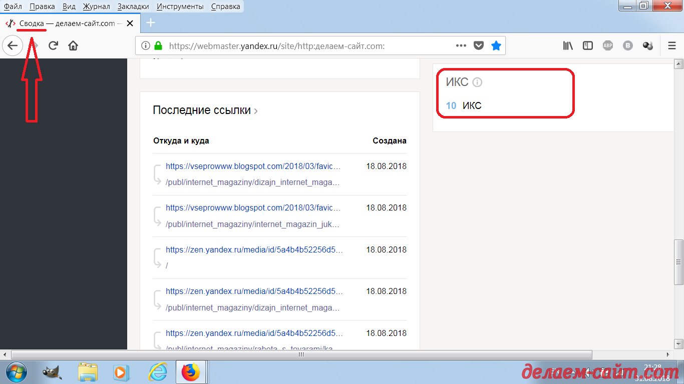ИКС от Яндекса