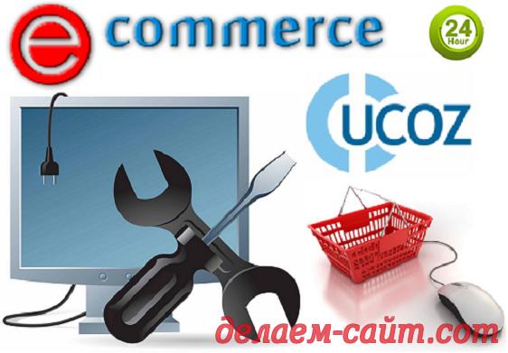 Настройка модуля интернет - магазина на uCoz